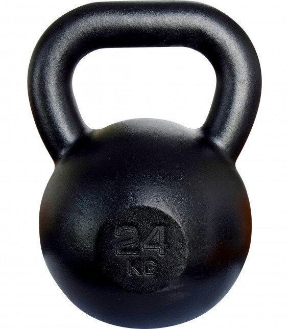 Чавунна Гиря 24 кг KAWMET (металева)