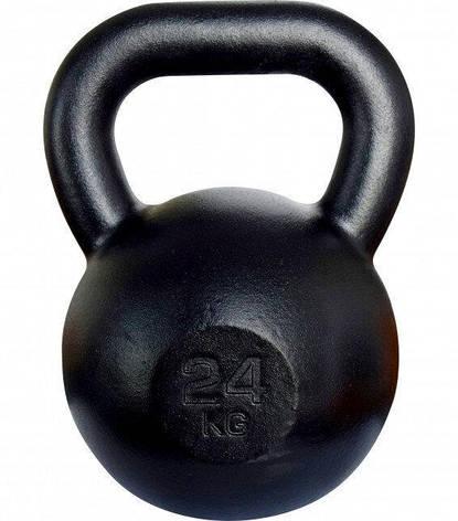 Чавунна Гиря 24 кг KAWMET (металева), фото 2