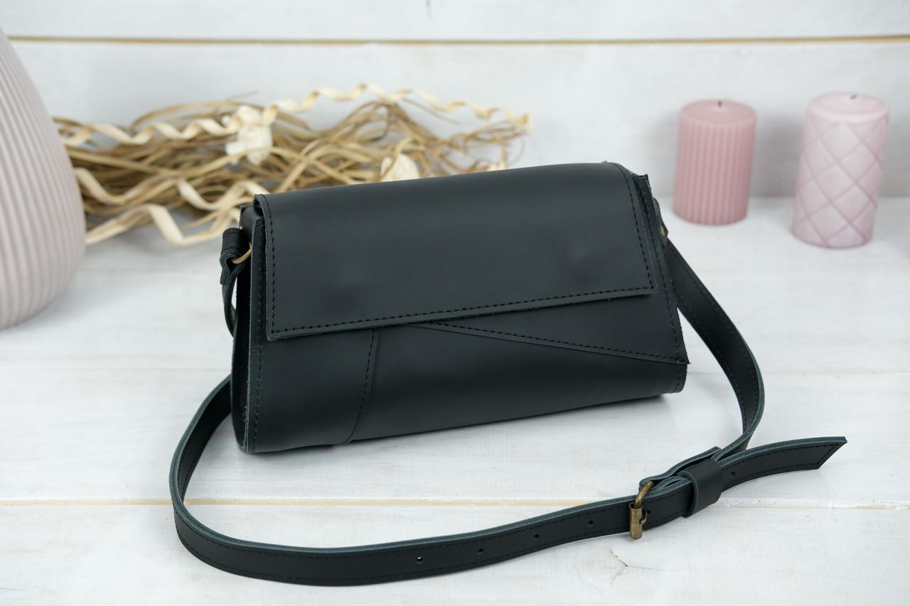 Женская сумка Френки Вечерняя, кожа Grand, цвет Черный