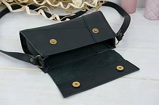 Женская сумка Френки Вечерняя, кожа Grand, цвет Черный, фото 3