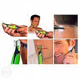 Триммер для мужчин Micro Touch Max, триммер с подсветкой, фото 4
