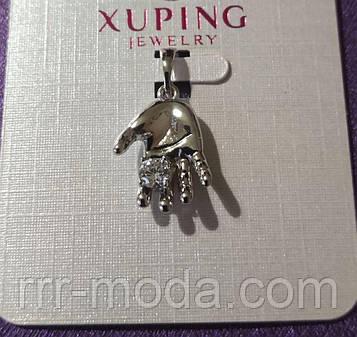 Позолоченные кулоны кристаллы оптом. Кулоны Xuping. 1