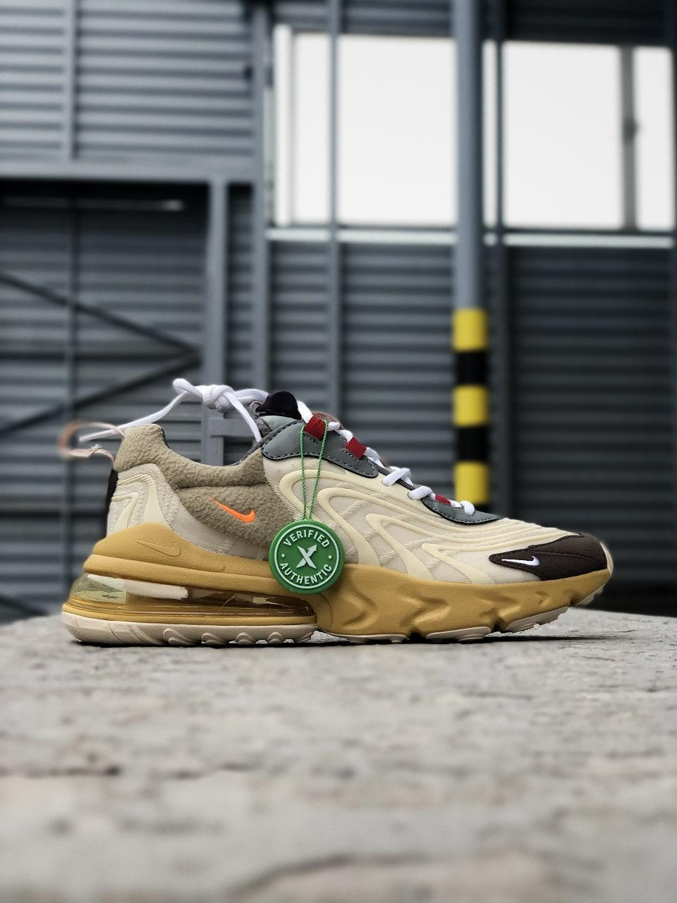 Кросівки Nike Travis Scott x Nike Air Max 270 React