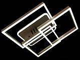 Світлодіодна LED люстра з діммером і підсвічуванням, 135W, фото 2