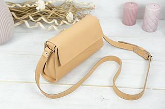 Женская сумка Френки Вечерняя, кожа Grand, цвет Бежевый, фото 2