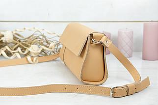 Женская сумка Френки Вечерняя, кожа Grand, цвет Бежевый, фото 3