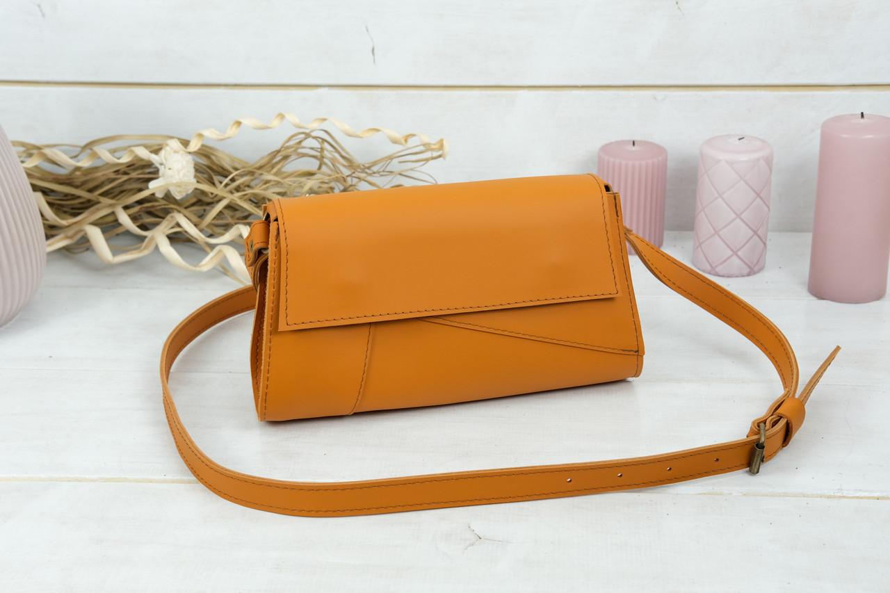 Женская сумка Френки Вечерняя, кожа Grand, цвет Янтарь