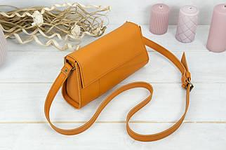 Женская сумка Френки Вечерняя, кожа Grand, цвет Янтарь, фото 2