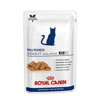 Royal Canin Neutered Weight Balance для котов и кошек с избыточным весом до 7 лет. Вес 100гр. 12шт