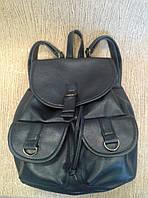 Рюкзак сумка синий из качественного кожзама (Турция)