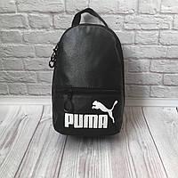 Рюкзак женский черный Puma Пума из эко кожи