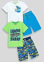 Пижамы для мальчика Matalan набор 2шт, 6л (116см)