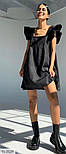 Жіночий сарафан лляної вільного крою, фото 2