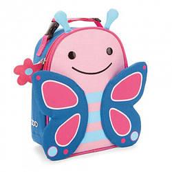 Детская термосумка Skip Hop Zoo lunch bag - Butterfly (Бабочка), 3+
