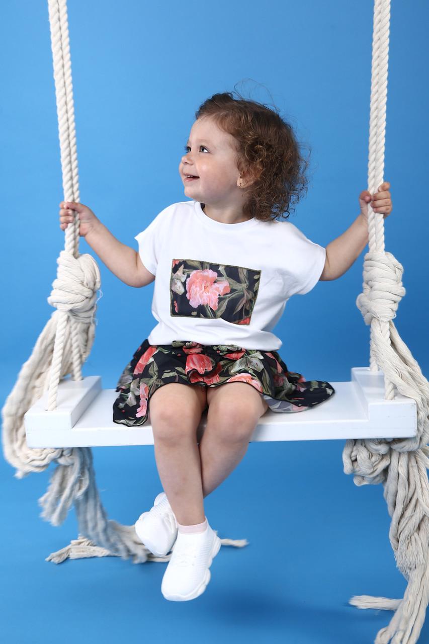 Спідниця-шорти для дівчинки