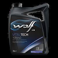 Моторное масло Wolf Vitaltech 10W-40 1л