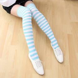 Гетры женские My Socks голубой (103)
