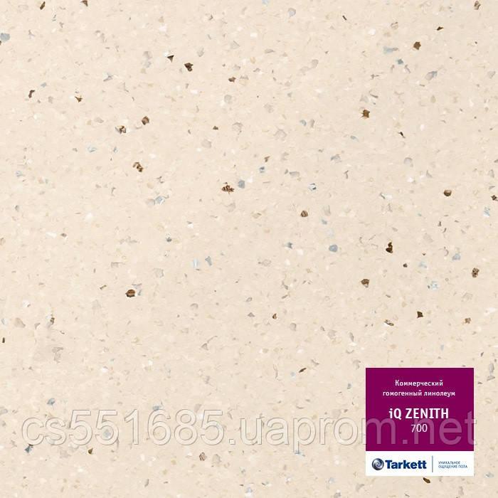 700 - линолеум коммерческий гомогенный 34 класс, коллекция IQ Zenith (Зенит) Tarkett (Таркетт)
