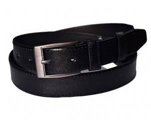 Ремень мужской кожаный Skipper SK01025 черный (311)