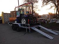 Причіп для міні трактора., фото 1
