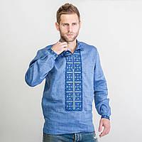 Мужская вышитая рубашка «Код нації»