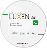Люксен Мульти 1100 Циркониевый диск 98 мм. 1100 Luxen MULTI D98