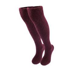 Теплые гольфы New socks,  размер 36-40, цвет Бордовый  (431)