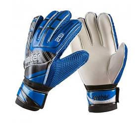 Вратарские перчатки PlayGame Latex Foam Miter, синий, размер 5, код: GGLG-MR15-WS (457)