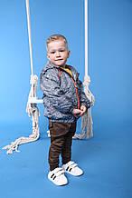 """Куртка детская для мальчика """"Море"""""""