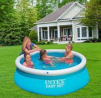 Детский надувной бассейн объем 880 л , Надувной бассейн для всей семьи