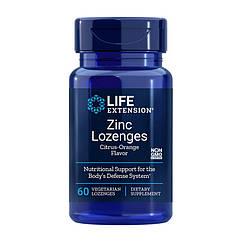 Цинк Life Extension Zinc Lozenges 60 конфет
