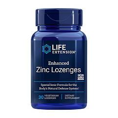 Цинк Life Extension Enhanced Zinc Lozenges 30 конфет