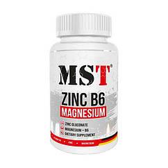 Цинк MST Zinc Magnesium B6 60 капсул