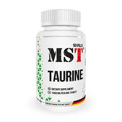 Таурин MST Taurine 1000 mg 90 таблеток