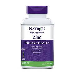 Цинк Natrol Zinc immune health 60 таблеток