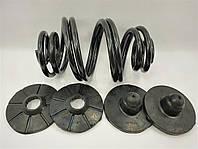 Комплект задніх пружин посилених з подушками (верх/низ) Ланос MT Польща, фото 1