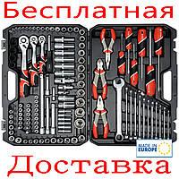 Большой набор инструмента для авто с ключами Yato YT-38881