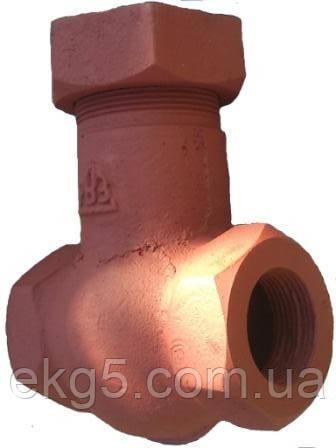 Обратный клапан Э155А( запчасти к экскаватору ЭКГ-5, ЭКГ-4,6 ЭКГ-5А)