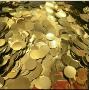 Конфетті маленькі Шматочки Золото 100 г 20мм