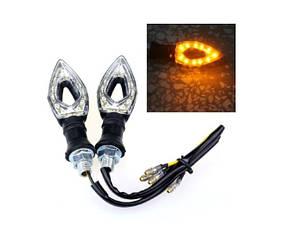 LED указатели поворота, поворотники для мотоцикла, пара Turning light