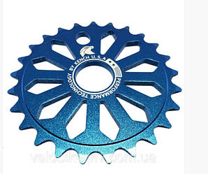 Звезда BMH Kench eagle 6мм 25т blue синий kh-rn-03