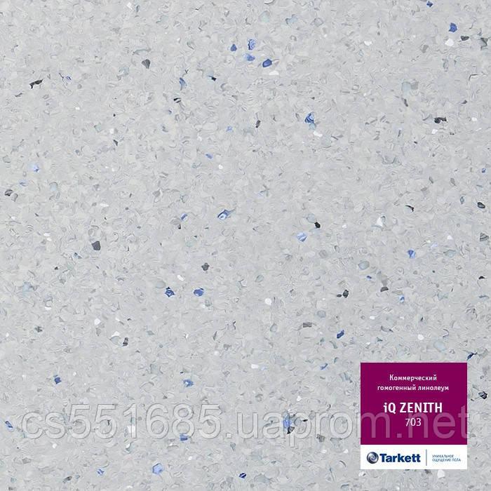 703 - линолеум коммерческий гомогенный 34 класс, коллекция IQ Zenith (Зенит) Tarkett (Таркетт)