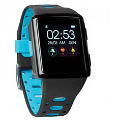 Смарт-часы Smart Watch Gelius Pro M3D (WEARFORCES GPS) Black/Blue