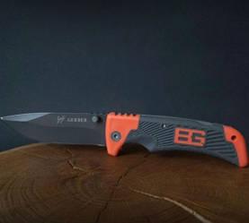 Cкладной туристический нож в стиле Gerber Bear для охоты и рыбалки с напылением