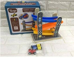 Деревянная игрушка Трек MD 2646 машинки, 3шт