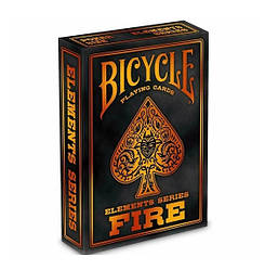 Коллекционные карты Bicycle playing cards elements series fire