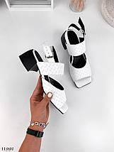 Білі літні босоніжки 11991 (ЯМ), фото 3