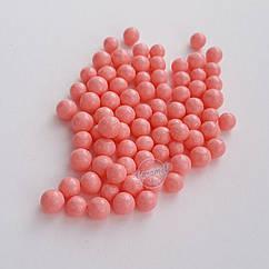 Посыпка кондитерская Драже розовое, мелкое