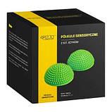 Полусфера массажная балансировочная 4FIZJO Balance Pad 16 см 4FJ0059 Green SKL41-240409, фото 2