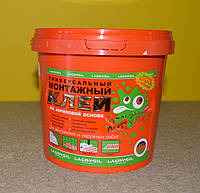 Универсальный монтажный клей на акриловой основе Сумасшедшая липучка Lacrysil (3 кг)